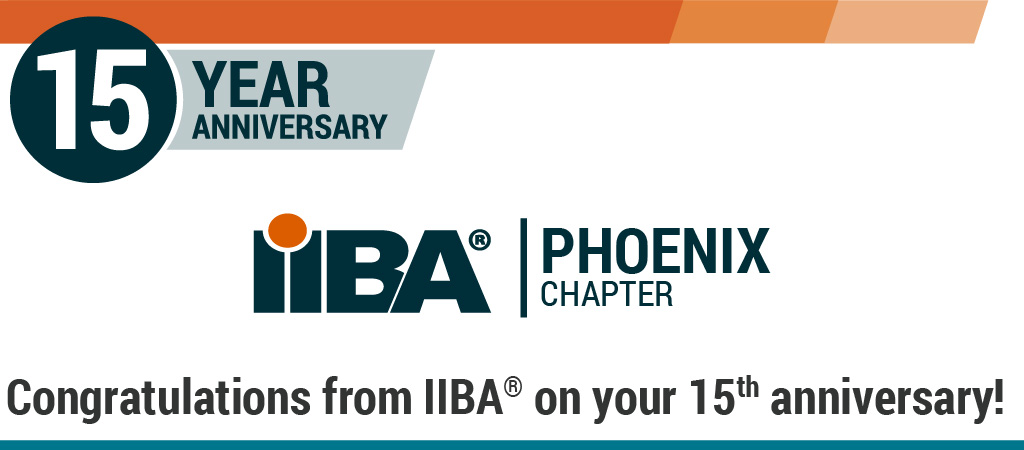 Phoenix Chapter on 15th Anniversary